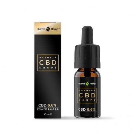Huile CDB PharmaHemp - 6.6% - 10ml